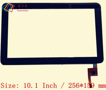 Black 10.1 Collu P/N TOPSUN_F0004_A1 tablet pc capacitive touch screen stikla digitizer panelis Bezmaksas piegāde