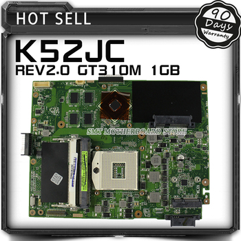 K52JC K52JR Klēpjdatoru, Pamatplate (Mainboard) par ASUS K52JR K52JT K52J K52JC A52J X52JC GeForce 310M 1GB DDR3